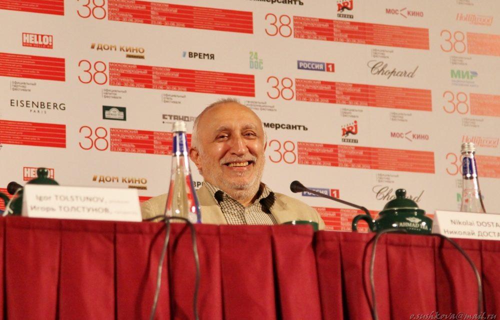 Николай Досталь и Юрий Арабов представили картину «Монах и бес»