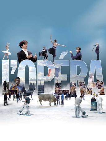 """Постер фильма """"The Paris Opera"""""""