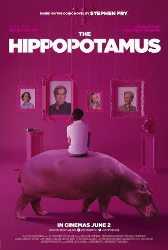 """Постер фильма """"The Hippopotamus"""""""