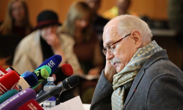 Никита Михалков: «На ММКФ никогда не будут допущены фильмы плохого качества»