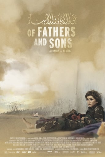 "Постер фильма ""Of Fathers and Sons"""